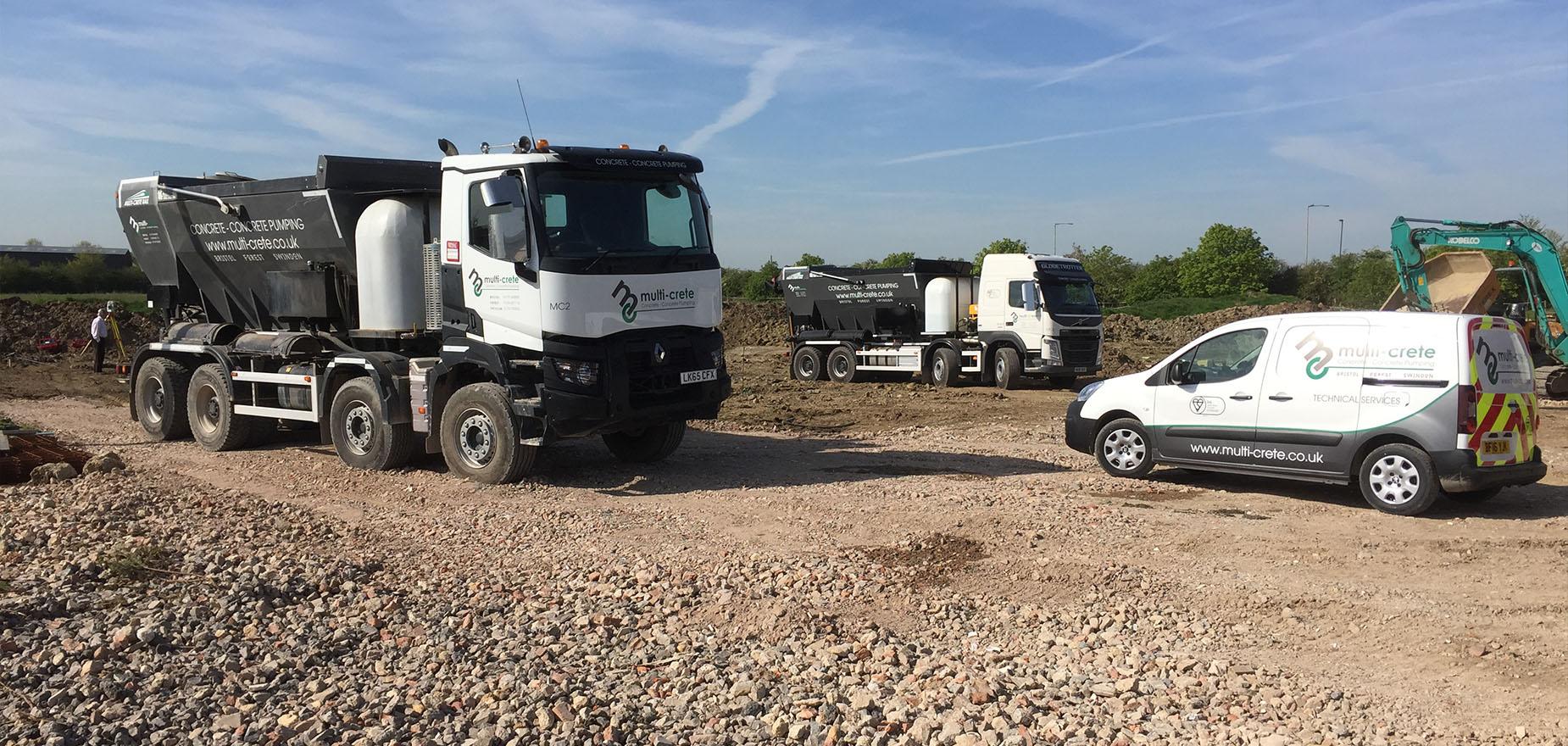 multicrete trucks